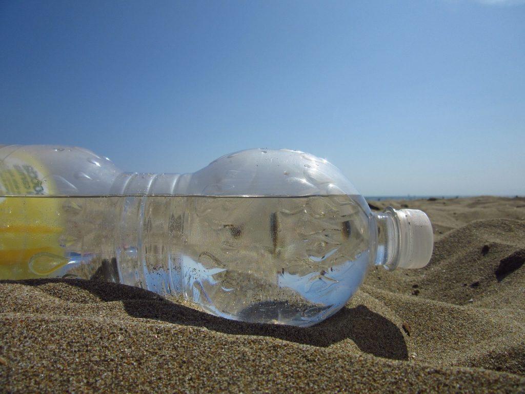 water bottle rubbish