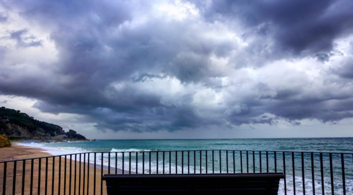 sant pol with clouds